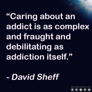 family caring for an addict
